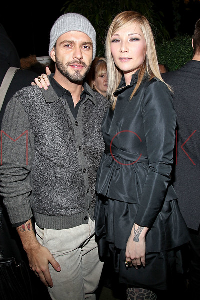 NEW YORK, NY - FEBRUARY 12:  Lorenzo Martone and designer Jules Kim attend the Seize Kind Fall/Winter 2011 Fine Jewelry collection presentation at Gramercy Park Hotel on February 12, 2011 in New York City.  (Photo by Steve Mack/FilmMagic) *** Local Caption *** Lorenzo Martone; Jules Kim