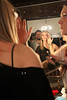 NEW YORK, NY - FEBRUARY 12:  Designer Jules Kim back stage at the Bijules fine jewelry presentation during Mercedes-Benz Fashion Week Fall 2011 at the Gramercy Park Hotel on February 12, 2011 in New York City.  (Photo by Steve Mack/S.D. Mack Pictures) *** Local Caption *** Jules Kim