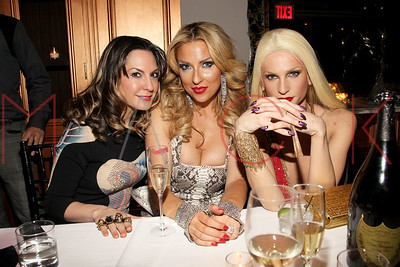 NEW YORK, NY - FEBRUARY 16:  The Blonds Fall 2011 fashion show after party during Mercedes-Benz Fashion Week at RdV Lounge.