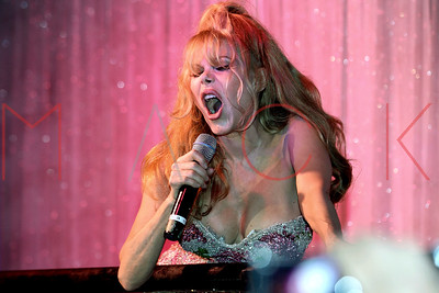 NEW YORK, NY - FEBRUARY 25:  Charo performs at Splash Bar.