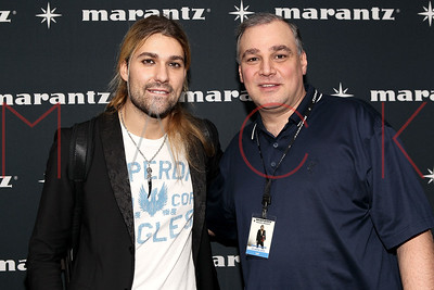 NEW YORK, NY - FEBRUARY 18:  The David Garrett Meet and Greet Presented by Marantz at Best Buy Theater.