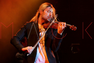 New York, NY - February 18: David Garrett, performs at the David Garrett Concert Presented by Marantz at Best Buy Theater.