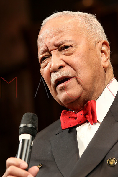 "NEW YORK, NY - FEBRUARY 09:  Former New York City Mayor David Dinkins attends the ""Driving Miss Daisy"" TalkBack series celebrates Black History Month at The Golden Theatre on February 9, 2011 in New York City.  (Photo by Steve Mack/S.D. Mack Pictures) *** Local Caption *** David Dinkins"