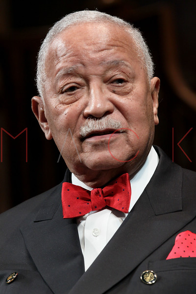 """NEW YORK, NY - FEBRUARY 09:  Former New York City Mayor David Dinkins attends the """"Driving Miss Daisy"""" TalkBack series celebrates Black History Month at The Golden Theatre on February 9, 2011 in New York City.  (Photo by Steve Mack/S.D. Mack Pictures) *** Local Caption *** David Dinkins"""