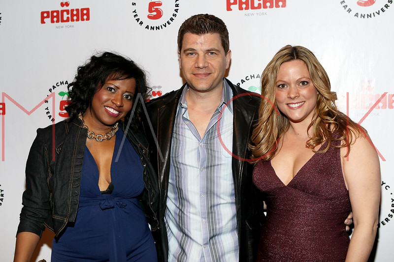 NEW YORK, NY - FEBRUARY 26:  Donnella Tilery, Tom and Kelly Murro attends Hailey Glassman's birthday bash at Pacha on February 26, 2011 in New York City.  (Photo by Steve Mack/S.D. Mack Pictures) *** Local Caption *** Donnella Tilery; Tom Murro; Kelly Murro