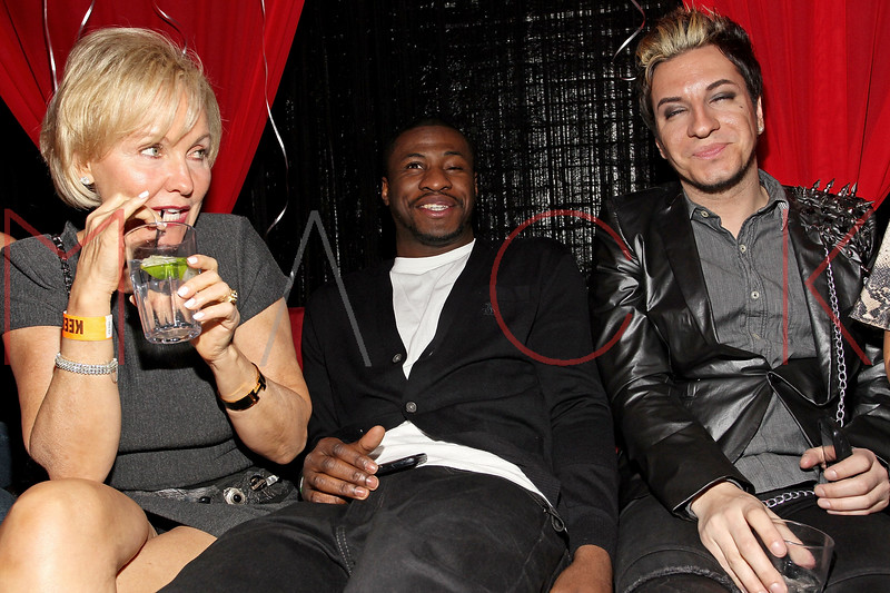 NEW YORK, NY - FEBRUARY 26:  Kim 'G' Granatell, Eric Kelly and Adam Barta attend Hailey Glassman's birthday bash at Pacha on February 26, 2011 in New York City.  (Photo by Steve Mack/S.D. Mack Pictures) *** Local Caption *** Kim 'G' Granatell; Eric Kelly; Adam Barta