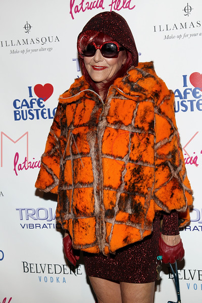 NEW YORK, NY - FEBRUARY 11:  Costume Designer Patricia Field attends the Patricia Field Disco Valentine's Ball at Capitale on February 11, 2011 in New York City.  (Photo by Steve Mack/S.D. Mack Pictures) *** Local Caption *** Patricia Field
