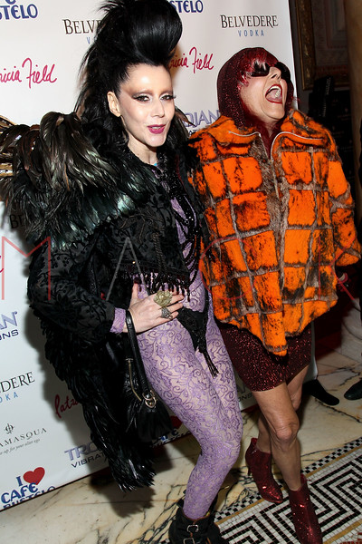NEW YORK, NY - FEBRUARY 11:  Event Producer Susanne Bartsch and Costume Designer Patricia Field attend the Patricia Field Disco Valentine's Ball at Capitale on February 11, 2011 in New York City.  (Photo by Steve Mack/S.D. Mack Pictures) *** Local Caption *** Susanne Bartsch; Patricia Field