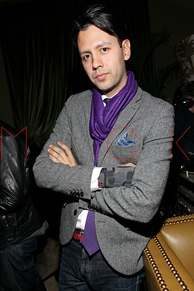 NEW YORK, NY - FEBRUARY 13:  Director of Social Media for Soho Grand Hotel Steven Rohas at Soho Grand Hotel on February 13, 2011 in New York City.  (Photo by Steve Mack/S.D. Mack Pictures) *** Local Caption *** Steven Rohas