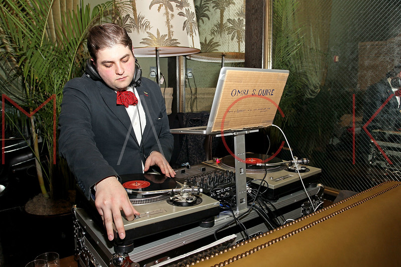 NEW YORK, NY - FEBRUARY 13:  DJ Omri S. Quire performs at Soho Grand Hotel on February 13, 2011 in New York City.  (Photo by Steve Mack/S.D. Mack Pictures) *** Local Caption *** DJ Omri S. Quire