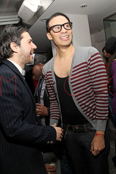 NEW YORK, NY - FEBRUARY 11:  CEO of The Tunnel Administration Daniel Tuttle and Designer Victor De Souza attend the after party following the Victor de Souza Fall 2011 fashion show during Mercedes-Benz Fashion Week at the Sky Room on February 11, 2011 in New York City.  (Photo by Steve Mack/S.D. Mack Pictures) *** Local Caption *** Daniel Tuttle; Victor De Souza