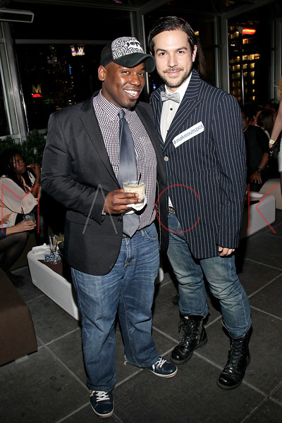 NEW YORK, NY - FEBRUARY 11:  Kasheik Paisley and CEO of The Tuttle Administration Daniel Tuttle attend the after party following the Victor de Souza Fall 2011 fashion show during Mercedes-Benz Fashion Week at the Sky Room on February 11, 2011 in New York City.  (Photo by Steve Mack/S.D. Mack Pictures) *** Local Caption *** Kasheik Paisley; Daniel Tuttle