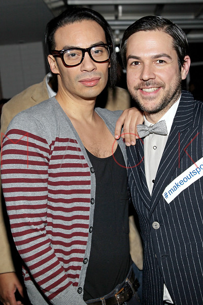 NEW YORK, NY - FEBRUARY 11:  Designer Victor De Souza and CEO of The Tunnel Administration Daniel Tuttle attend the after party following the Victor de Souza Fall 2011 fashion show during Mercedes-Benz Fashion Week at the Sky Room on February 11, 2011 in New York City.  (Photo by Steve Mack/S.D. Mack Pictures) *** Local Caption *** Victor De Souza; Daniel Tuttle