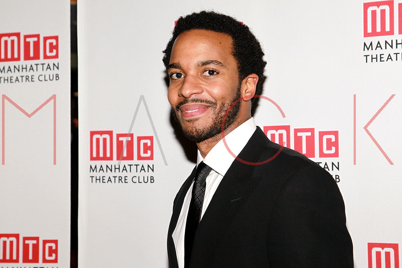 """NEW YORK, NY - FEBRUARY 01:  Andre Holland attends the party for the Manhattan Theatre Club's """"The Whipping Man"""" opening night at the Beacon on February 1, 2011 in New York City.  (Photo by Steve Mack/S.D. Mack Pictures) *** Local Caption *** Andre Holland"""