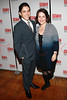 "NEW YORK, NY - FEBRUARY 01:  Matthew Lopez and Mandy Greenfield attend the party for the Manhattan Theatre Club's ""The Whipping Man"" opening night at the Beacon on February 1, 2011 in New York City.  (Photo by Steve Mack/S.D. Mack Pictures) *** Local Caption *** Matthew Lopez; Mandy Greenfield"