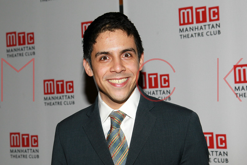 "NEW YORK, NY - FEBRUARY 01:  Matthew Lopez attends the party for the Manhattan Theatre Club's ""The Whipping Man"" opening night at the Beacon on February 1, 2011 in New York City.  (Photo by Steve Mack/S.D. Mack Pictures) *** Local Caption *** Matthew Lopez"