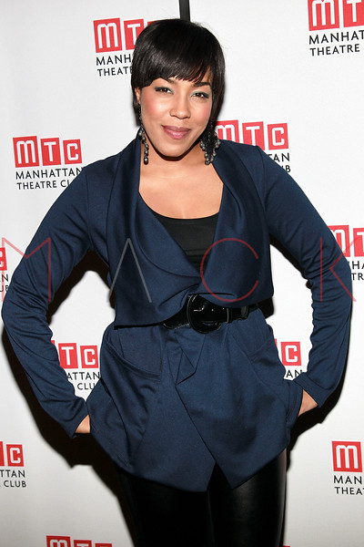 "NEW YORK, NY - FEBRUARY 01:  De'Adre Aziza attends the party for the Manhattan Theatre Club's ""The Whipping Man"" opening night at the Beacon on February 1, 2011 in New York City.  (Photo by Steve Mack/S.D. Mack Pictures) *** Local Caption *** De'Adre Aziza"