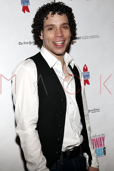 NEW YORK, NY - FEBRUARY 07:  Robin De Jesus attends the after party for Broadway Backwards 6 at John's Pizzeria on February 7, 2011 in New York City.  (Photo by Steve Mack/S.D. Mack Pictures) *** Local Caption *** Robin De Jesus