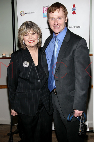 NEW YORK, NY - FEBRUARY 07:  Debra Monk and Robert Bartley attend the after party for Broadway Backwards 6 at John's Pizzeria on February 7, 2011 in New York City.  (Photo by Steve Mack/S.D. Mack Pictures) *** Local Caption *** Debra Monk; Robert Bartley