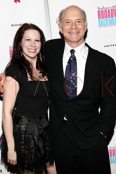 NEW YORK, NY - FEBRUARY 07:  Kersten Wyatt and Dan Butler attend the after party for Broadway Backwards 6 at John's Pizzeria on February 7, 2011 in New York City.  (Photo by Steve Mack/S.D. Mack Pictures) *** Local Caption *** Kersten Wyatt; Dan Butler