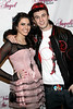 STAMFORD, CT - JANUARY 08:  Angelica Salem and Chris Webby attend the Angelica Salem & friends benefit concert at the Stamford Palace Theatre on January 8, 2011 in Stamford, Connecticut.  (Photo by Steve Mack/S.D. Mack Pictures) *** Local Caption *** Angelica Salem; Chris Webby