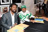 """book signing for """"Giant Steps to Change the World"""", New York, USA"""