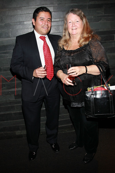 NEW YORK, NY - JANUARY 15:  Gil Coronado and Sandy MacDonald attend the Trapps Pre-Show Party at Butter on January 15, 2011 in New York City.  (Photo by Steve Mack/S.D. Mack Pictures) *** Local Caption *** Gil Coronado; Sandy MacDonald