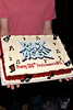 "NEW YORK, NY - JULY 16:  Cake is served in celebration of the 1000th performance of Broadway's ""Rock Of Ages"" at Helen Hayes Theatre on July 16, 2011 in New York City.  (Photo by Steve Mack/S.D. Mack Pictures)"