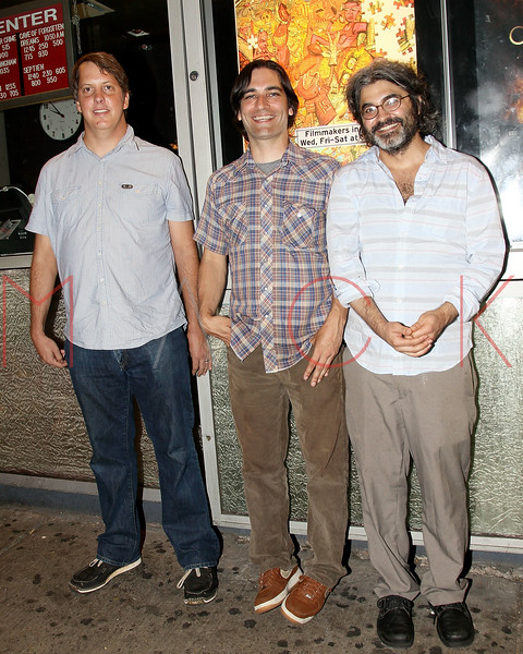 "NEW YORK, NY - JULY 06:  (L-R) Jim Wellingham, director/writer Michael Tully and artist Onur Turkel attend the ""Septien"" premiere at the IFC Center on July 6, 2011 in New York City.  (Photo by Steve Mack/S.D. Mack Pictures) *** Local Caption *** Jim Wellingham; Michael Tully; Onur Turkel"