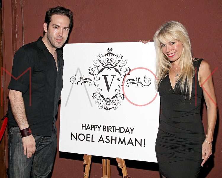 NEW YORK, NY - JULY 07:  Tyler Burrow and Roberta Thompson attend Noel Ashman's birthday party at Five on July 7, 2011 in New York City.  (Photo by Steve Mack/S.D. Mack Pictures) *** Local Caption *** Tyler Burrow; Roberta Thompson