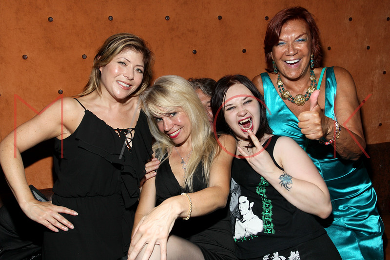 NEW YORK, NY - JULY 07:  Guest, Roberta Thompson, Jenny-Arline Morticha Demartines-demencha and Carmen D'Alessio attend Noel Ashman's birthday party at Five on July 7, 2011 in New York City.  (Photo by Steve Mack/Getty Images)