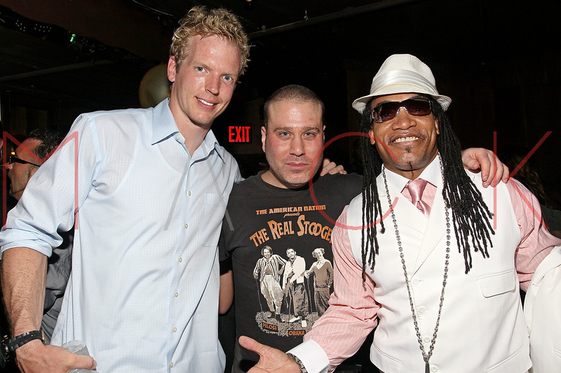 NEW YORK, NY - JULY 07:  Quarterback for the Tennessee Titans Chris Simms, Noel Ashman and Melle Mel attend Noel Ashman's birthday party at Five on July 7, 2011 in New York City.  (Photo by Steve Mack/S.D. Mack Pictures) *** Local Caption *** Chris Simms; Noel Ashman; Melle Mel