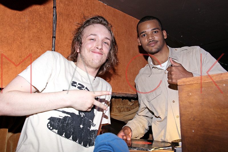 NEW YORK, NY - JULY 07:  DJ Liam McMullen and DJ Boogie Dash perform at Noel Ashman's birthday party at Five on July 7, 2011 in New York City.  (Photo by Steve Mack/S.D. Mack Pictures) *** Local Caption *** Liam McMullen; Boogie Dash