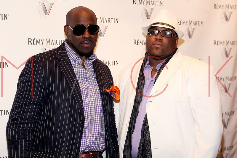 NEW YORK, NY - JULY 12:  Saint Germaine (L) and Wayne Brown attend Remy Martin V Official launch party at Lavo NYC on July 12, 2011 in New York City.  (Photo by Steve Mack/S.D. Mack Pictures) *** Local Caption *** Wayne Brown; Saint Germaine