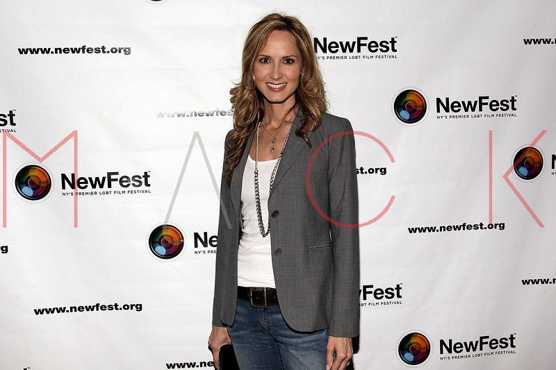 "NEW YORK, NY - JULY 22:  Singer Chely Wright attends the screening of ""Wish Me Away"" at the SVA Theater on July 22, 2011 in New York City.  (Photo by Steve Mack/S.D. Mack Pictures) *** Local Caption *** Chely Wright"