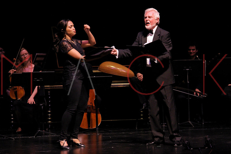 NEW YORK, NY - JUNE 13:  Monica Raymund and Sir Derek Jacobi perform on stage at the 2011 Juilliard Drama Benefit at the Peter Jay Sharp Theater on June 13, 2011 in New York City.  (Photo by Steve Mack/S.D. Mack Pictures) *** Local Caption *** Monica Raymund; Sir Derek Jacobi
