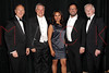 NEW YORK, NY - JUNE 13:  Richard Clifford, Bob McDonald, Monica Raymund, David Daniels and Sir Derek Jacobi attends the 2011 Juilliard Drama Benefit at the Peter Jay Sharp Theater on June 13, 2011 in New York City.  (Photo by Steve Mack/S.D. Mack Pictures) *** Local Caption *** Richard Clifford; Bob McDonald; Monica Raymund; David Daniels; Sir Derek Jacobi