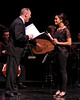 NEW YORK, NY - JUNE 13:  Richard Clifford and Monica Raymund perform on stage at the 2011 Juilliard Drama Benefit at the Peter Jay Sharp Theater on June 13, 2011 in New York City.  (Photo by Steve Mack/S.D. Mack Pictures) *** Local Caption *** Richard Clifford; Monica Raymund