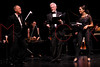 NEW YORK, NY - JUNE 13:  Richard Clifford, Sir Derek Jacobi and Monica Raymund perform on stage at the 2011 Juilliard Drama Benefit at the Peter Jay Sharp Theater on June 13, 2011 in New York City.  (Photo by Steve Mack/S.D. Mack Pictures) *** Local Caption *** Richard Clifford; Sir Derek Jacobi; Monica Raymund