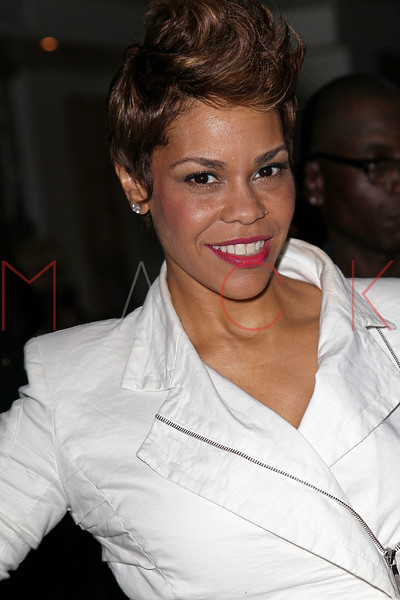 """NEW YORK, NY - JUNE 22:  April Woodard attends the """"Men Of Height"""" 2011 NBA Pre-Draft event at Nikki Midtown on June 22, 2011 in New York City.  (Photo by Steve Mack/S.D. Mack Pictures) *** Local Caption *** April Woodard"""