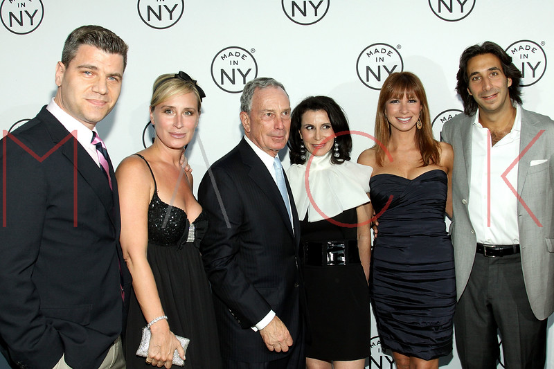 NEW YORK, NY - JUNE 06:  Tom Murro, Sonja Morgan, New York City Mayor Michael Bloomberg, New York City Commissioner of Media and Entertainment Katherine Oliver, Jill Zarin and Jacques Azoulay attend the 6th annual Made In NY awards at Gracie Mansion on June 6, 2011 in New York City.  (Photo by Steve Mack/S.D. Mack Pictures) *** Local Caption *** Tom Murro; Sonja Morgan; Michael Bloomberg; Katherine Oliver; Jill Zarin; Jacques Azoulay