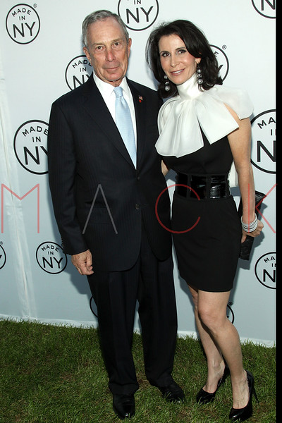 NEW YORK, NY - JUNE 06:  New York City Mayor Michael Bloomberg and New York City Commissioner of Media and Entertainment Katherine Oliver attend the 6th annual Made In NY awards at Gracie Mansion on June 6, 2011 in New York City.  (Photo by Steve Mack/S.D. Mack Pictures) *** Local Caption *** Michael Bloomberg; Katherine Oliver