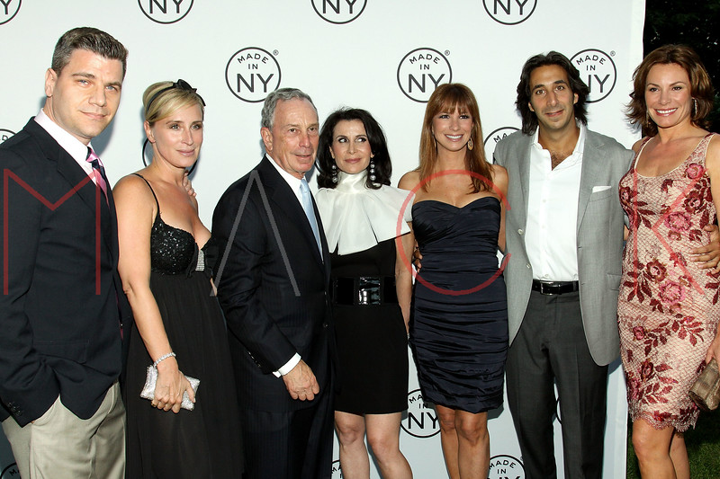 NEW YORK, NY - JUNE 06:  Tom Murro, Sonja Morgan, New York City Mayor Michael Bloomberg, New York City Commissioner of Media and Entertainment Katherine Oliver, Jill Zarin, Jacques Azoulay and Countess LuAnn de Lesseps attend the 6th annual Made In NY awards at Gracie Mansion on June 6, 2011 in New York City.  (Photo by Steve Mack/S.D. Mack Pictures) *** Local Caption *** Tom Murro; Sonja Morgan; Michael Bloomberg; Katherine Oliver; Jill Zarin; Jacques Azoulay; LuAnn de Lesseps
