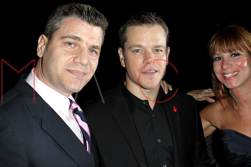 NEW YORK, NY - JUNE 06:  Tom Murro, Matt Damon and Jill Zarin attend the 6th annual Made In NY awards at Gracie Mansion on June 6, 2011 in New York City.  (Photo by Steve Mack/S.D. Mack Pictures) *** Local Caption *** Tom Murro; Matt Damon; Jill Zarin
