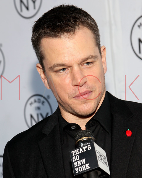 NEW YORK, NY - JUNE 06:  Matt Damon attends the 6th annual Made In NY awards at Gracie Mansion on June 6, 2011 in New York City.  (Photo by Steve Mack/S.D. Mack Pictures) *** Local Caption *** Matt Damon