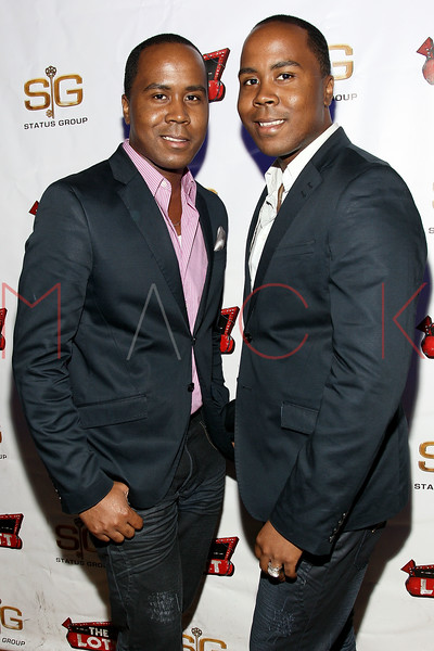 NEW YORK, NY - JUNE 24:  Antoine Von Boozier and Andre Von Boozier attend Angelina Pivarnick's Birthday Celebration at The Lott on June 24, 2011 in New York City.  (Photo by Steve Mack/S.D. Mack Pictures) *** Local Caption *** Antoine Von Boozier; Andre Von Boozier