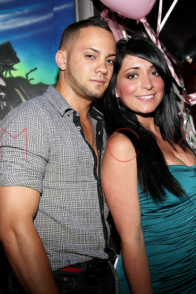 NEW YORK, NY - JUNE 24:  Michael Tavarez and Angelina Pivarnick attend Angelina Pivarnick's Birthday Celebration at The Lott on June 24, 2011 in New York City.  (Photo by Steve Mack/S.D. Mack Pictures) *** Local Caption *** Michael Tavarez; Angelina Pivarnick