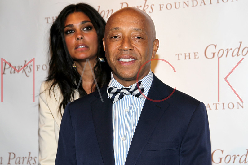 New York - June 01: Rachel Roy, Russell Simmons in attendance at The Gordon Parks Foundation Awards Dinner and Auction at Gotham Hall on Wednesday, June 1, 2011 in New York, NY.  (Photo by Steve Mack/S.D. Mack Pictures)