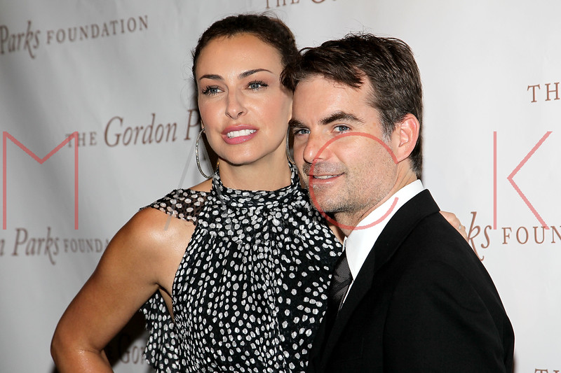 New York - June 01: Ingrid Vandebosch, Jeff Gordon  in attendance at The Gordon Parks Foundation Awards Dinner and Auction at Gotham Hall on Wednesday, June 1, 2011 in New York, NY.  (Photo by Steve Mack/S.D. Mack Pictures)