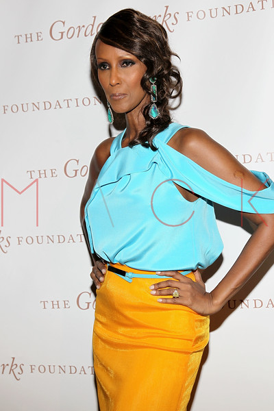 New York - June 01: Iman in attendance at The Gordon Parks Foundation Awards Dinner and Auction at Gotham Hall on Wednesday, June 1, 2011 in New York, NY.  (Photo by Steve Mack/S.D. Mack Pictures)